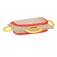 3 Handled Bite Pillow-Training Jute Bite PAD for dog training