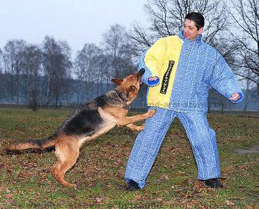 police  k9 bite suit, body bite suit for schutzhund dog training