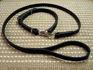 Police / hunting' dog leash and collar (combo)