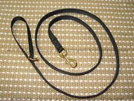 Police tracking dog leash made of nylon with ring on the handle