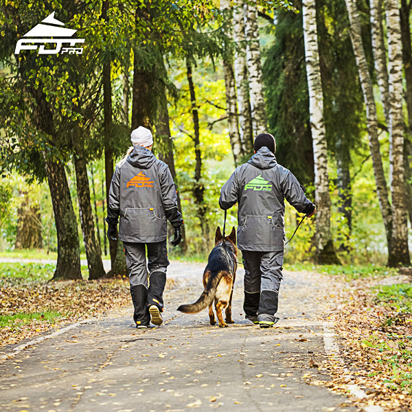 FDT Professional Dog Training Jacket of Fine Quality for All Weather Use