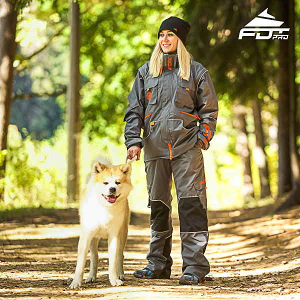 Pro Unisex Design Dog Trainer Jacket of Finest Quality Materials