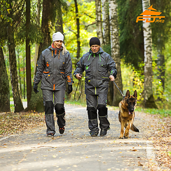 Unisex Dog Tracking Suit for Men and Women for Any Weather Use