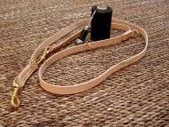 Leather dog leash multi functional