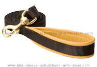 Very comfortable walking dog leash with swivel